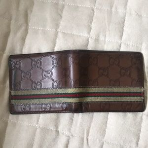 Gucci Bags - Authentic Mens Gucci Wallet
